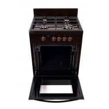Кухонная плита Greta 600-12 чуг. коричневый