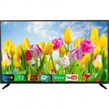 Телевизор Bravis LED-32G5000Smart+T2 black