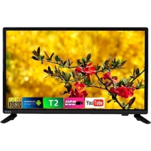 Телевизор Bravis LED-22E6000 Smart+T2 black