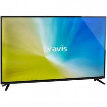 Телевизор Bravis LED-42E6000 Smart+T2 black